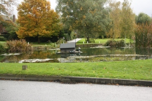 Otford's listed pond